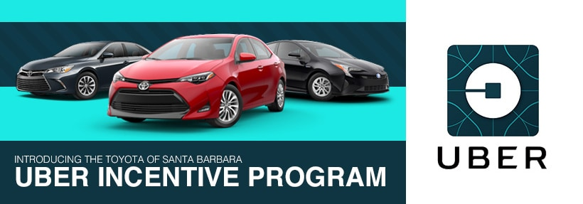 toyota uber program santa barbara