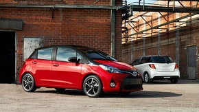 Get a brochure for a 2016 Yaris