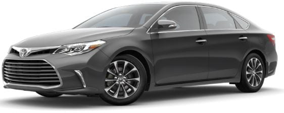 Toyota Avalon lease offer at Toyota of Santa Barbara