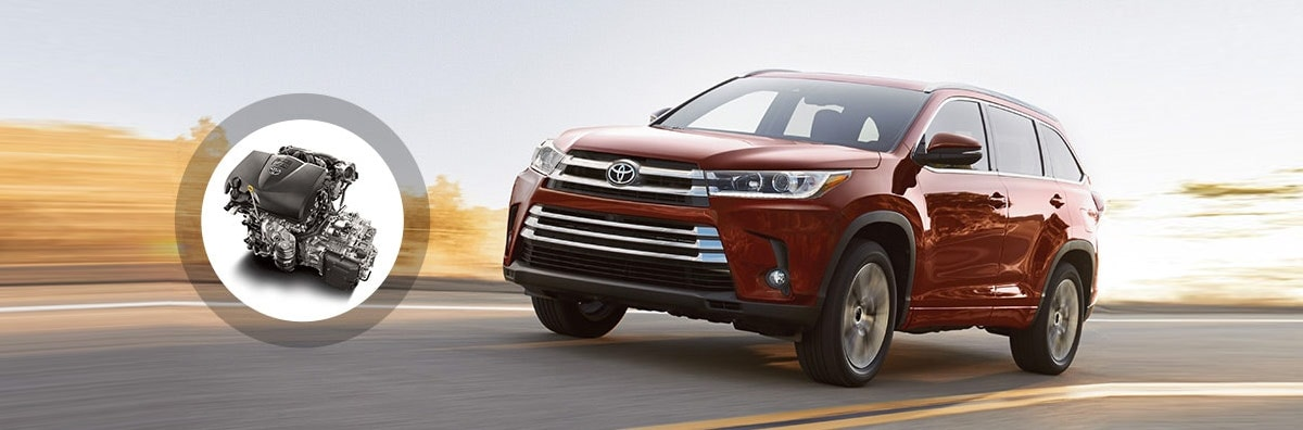 2018 Toyota Highlander Engine Specs & Performance