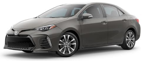 Toyota Corolla lease offer at Toyota of Santa Barbara