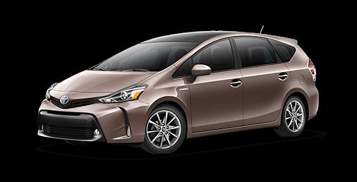 Rent a Toyota Prius v