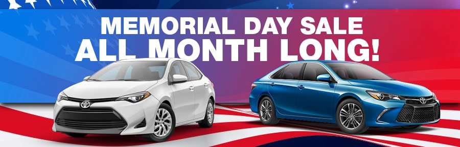 memorial day sales event toyota of santa barbara. Black Bedroom Furniture Sets. Home Design Ideas