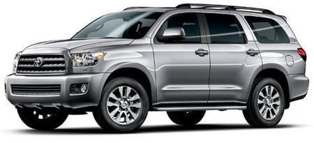 Toyota Sequoia Scheduled Maintenance Guide