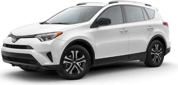 Toyota Rav4 SUV lease offer at Toyota of Santa Barbara