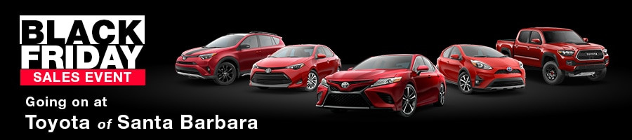 Toyota Black Friday Sales Event 2017