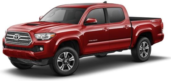 Toyota Tacoma Double Cab lease offer at Toyota of Santa Barbara