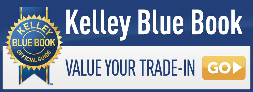 Get a trade in value on your vehicle in with KBB