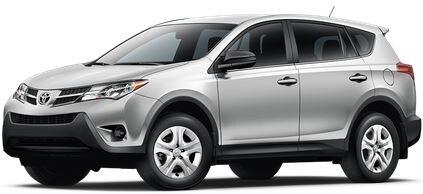 Rent a Toyota Rav4 XLE