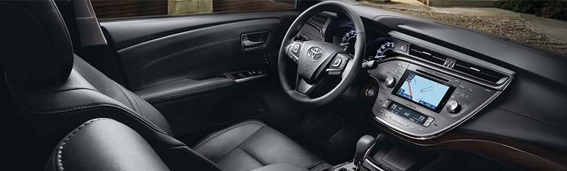 The New 2018 Toyota Avalon Interior