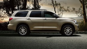 Get a brochure for a 2017 Sequoia