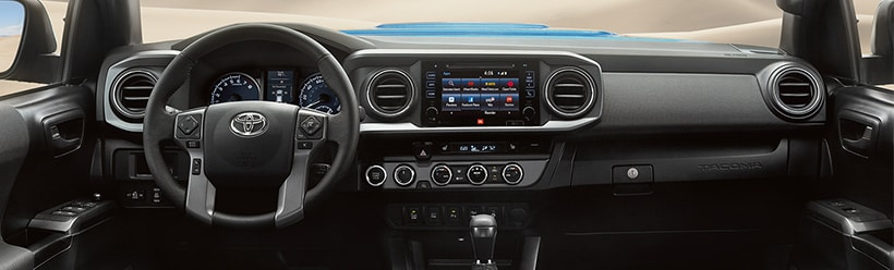 The New 2017 Toyota Tacoma Interior