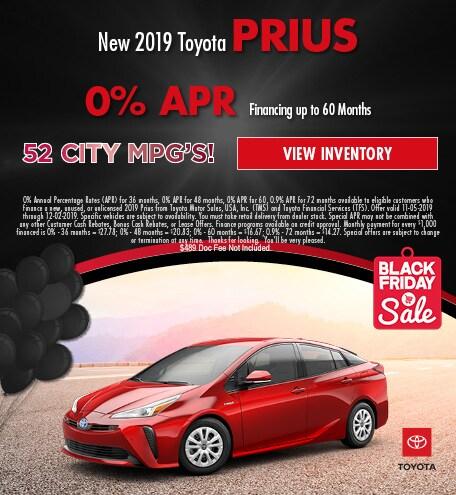 2019 Prius November