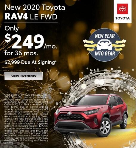 2020 - RAV4 - January