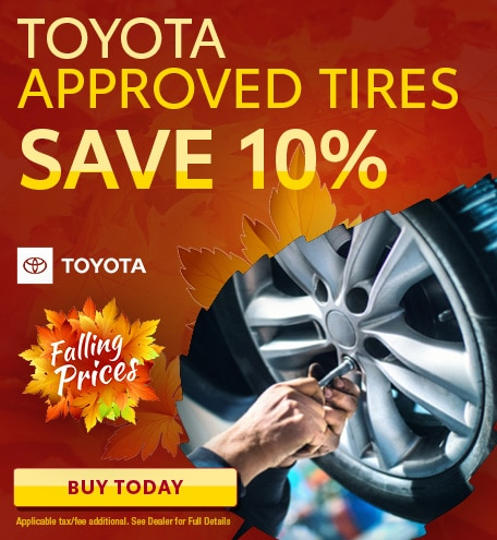 Toyota Approved tires