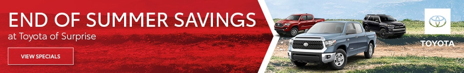 2019 - End of Summer Savings - September