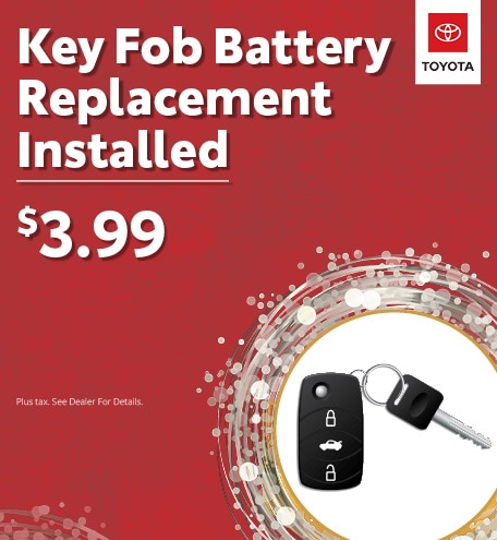 Key Fob Battery Replacement Installed