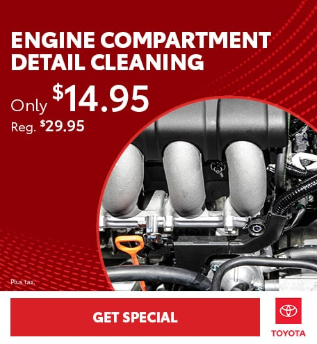 Engine Compartment Detail Cleaning