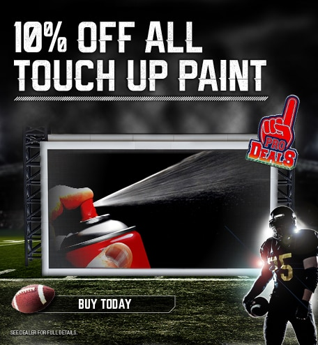 10% Off All Touch Up Paint