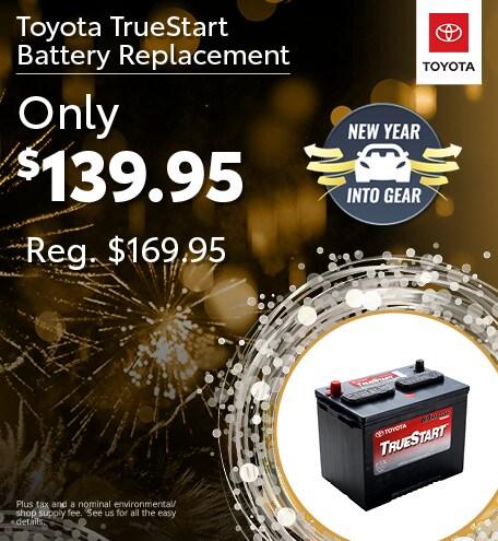 TrueStart Battery Replacement