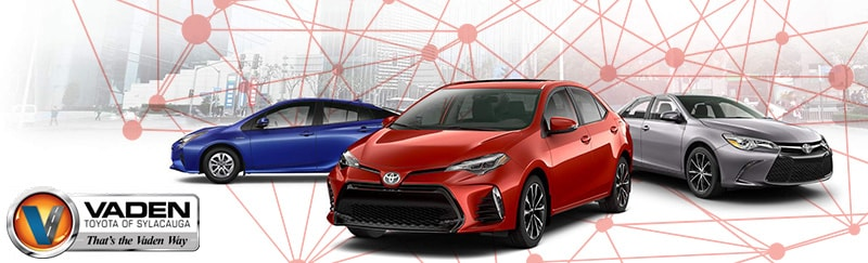 Research the Toyota 2017 Lineup! Vaden Toyota | Sylacauga, AL
