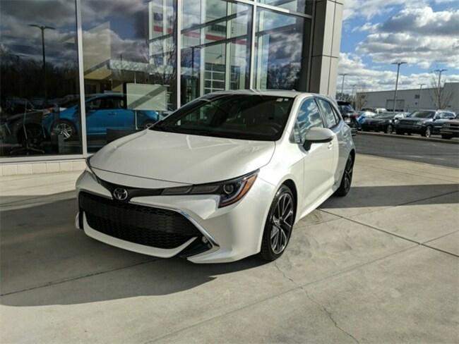 New 2019 Toyota Corolla Hatchback XSE CVT Hatchback Terre Haute, IN