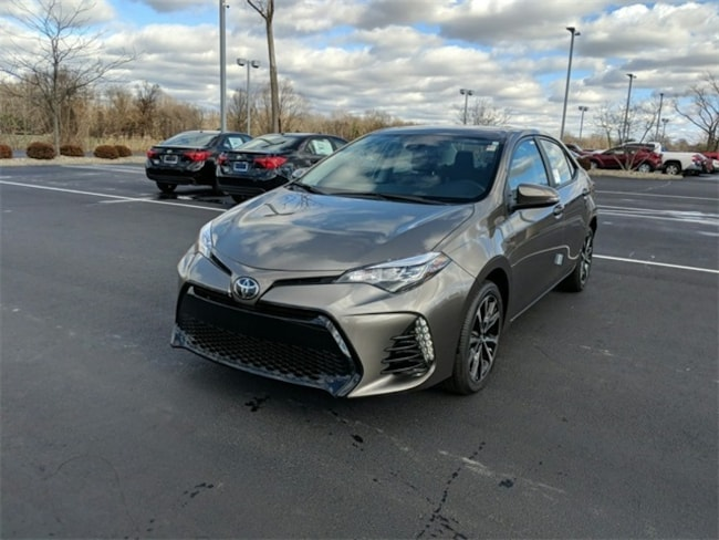 New 2019 Toyota Corolla SE CVT Sedan Terre Haute, IN