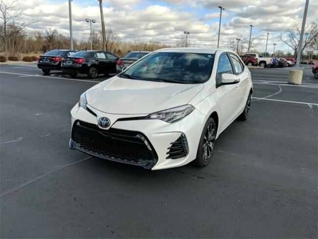 New 2019 Toyota Corolla SE CVT Sedan Terre Haute, IN