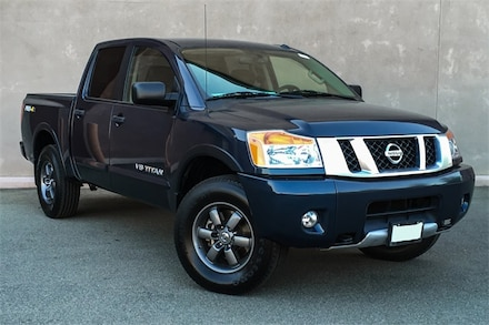 Featured Used 2015 Nissan Titan PRO-4X Truck Crew Cab 1N6AA0ECXFN510966 for sale in Cathedral City, CA