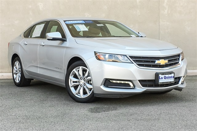 Featured Used 2018 Chevrolet Impala LT w/1LT Sedan 2G1105S36J9142992 for sale in Cathedral City, CA