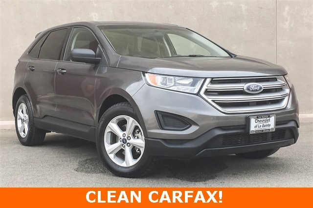 Featured Used 2015 Ford Edge SE SUV 2FMTK3G8XFBB39625 for sale in Cathedral City, CA
