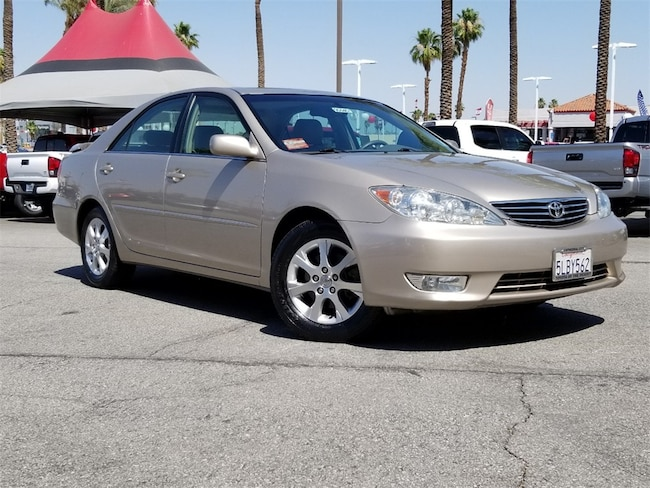 Used 2005 Toyota Camry XLE V6 Sedan 4T1BF30K25U093674 in Cathedral City