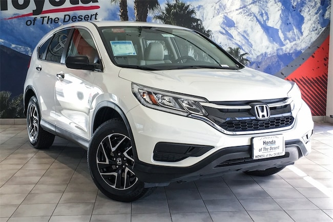 Used 2016 Honda CR-V SE FWD SUV 5J6RM3H40GL010082 in Cathedral City