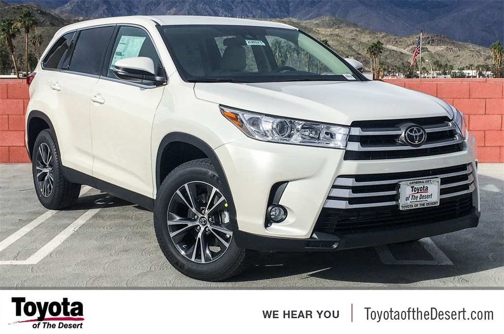 Toyota Of The Desert >> New 2019 Toyota Highlander Le Plus V6 For Sale In Cathedral City Ca Vin 5tdzzrfh0ks322037
