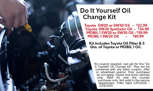 Do It Yourself Oil Change Kit