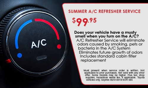 SUMMER A/C REFRESHER SERVICE