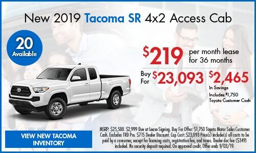 August | Tacoma