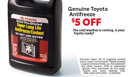Genuine Toyota Antifreeze