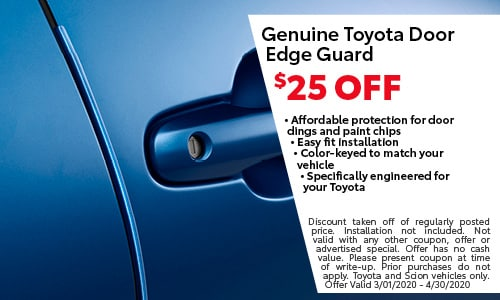 Genuine Toyota Door Edge Guard