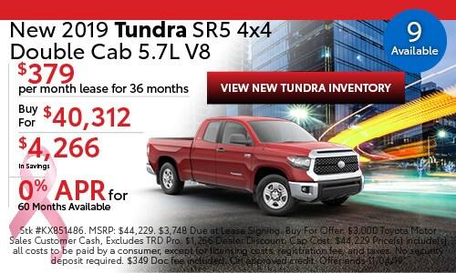 2019 Toyota Tundra SR5 4x4