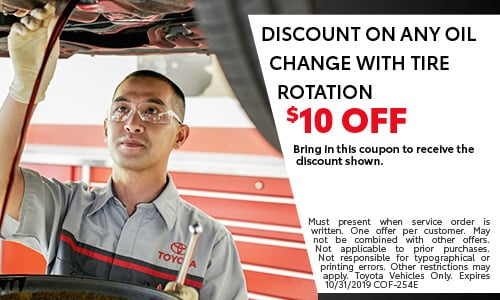 DISCOUNT ON ANY OIL CHANGE