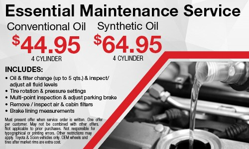 June | Essential Maintenance Special
