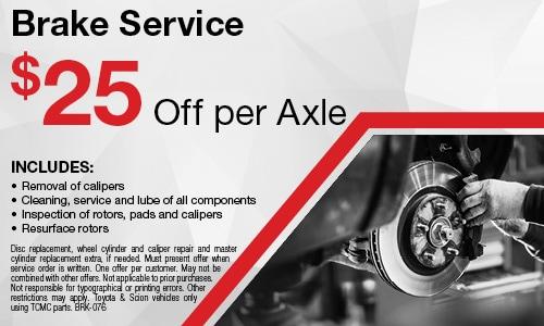 June | Brake Service
