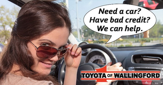 Guaranteed Credit Approval At Toyota Of Wallingford