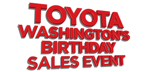 Toyota of Watertown - Washington's Birthday Sales Event