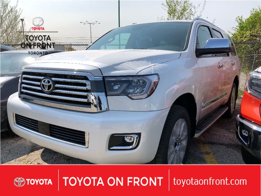 New 2018 Toyota Sequoia For Sale Toronto On Fuel Filter Location
