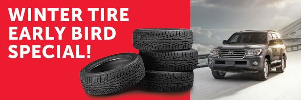 Winter Tires For Sale >> Promo Winter Tire Sale Toyota On The Park