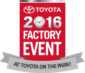 2016 Toyota Factory Event at Toyota On The Park!