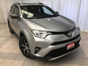 2016 Toyota RAV4 SE Navigation Leather 18