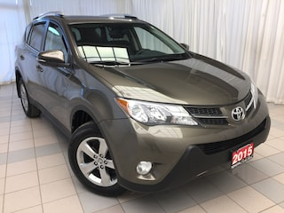 2015 Toyota RAV4 XLE FWD Alloys Sunroof SUV